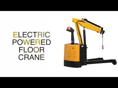 ELECTRIC POWERED FLOOR CRANE EPFC-25