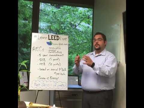 Learn LEED Live - Renewable Energy