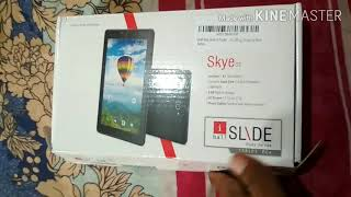 Tablet Unboxing iBall Slide Skye 03 Specifications