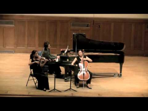 Beethoven - Trio - 14 Variations Op. 44 In E Flat Major (Artist Diploma Recital)