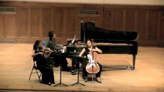 Beethoven - Trio - 14 Variations op. 44 in E flat major (Artist Diploma Recital)