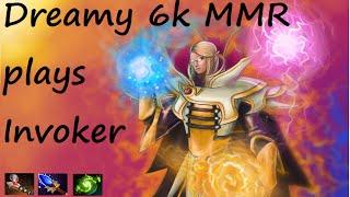 Dota 2 - Dreamy 6k MMR plays Invoker [02]