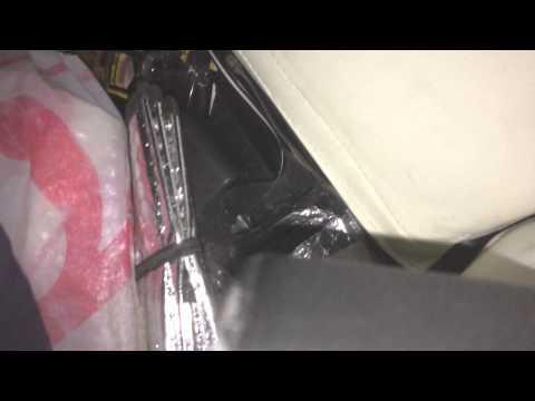 Снятие задних спинок сидения поло седан