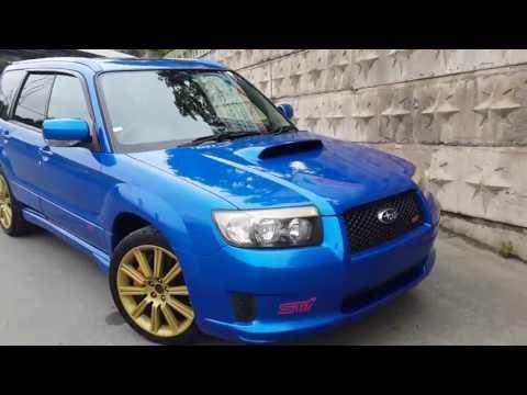 Subaru Forester SG9 STI 2007