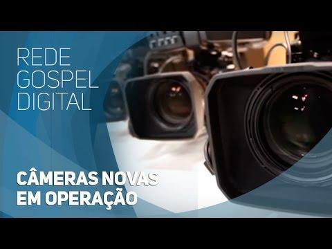 Rede Gospel Digital - Câmeras novas em operação
