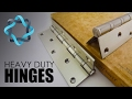 Heavy Duty Hinges for Doors & Gates - Video Guide