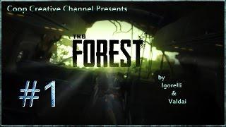 "The Forest (Coop) [Серия 1] ""Крушение и Лес"""