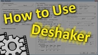 How to use Deshaker