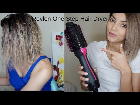 REVLON ONE-STEP HAIR DRYER AND VOLUMIZER | Perfect At Home Blowout