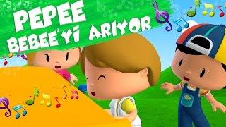 Pepee Çocuk Şarkıları - Bebee'yi Arıyor - Düşyeri