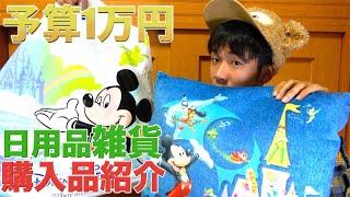 【予算1万円】これだけは買って欲しい!東京ディズニーリゾートで買える日用品の購入品紹介 東京ディズニーランド 東京ディズニーシー