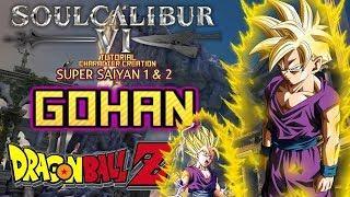 SoulCalibur السادس - كيفية إنشاء غوهان (Dragon Ball Z) CAS