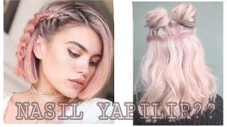 Tumblr tarzı l saçlar nasıl yapılır kolay ve harika saçlar