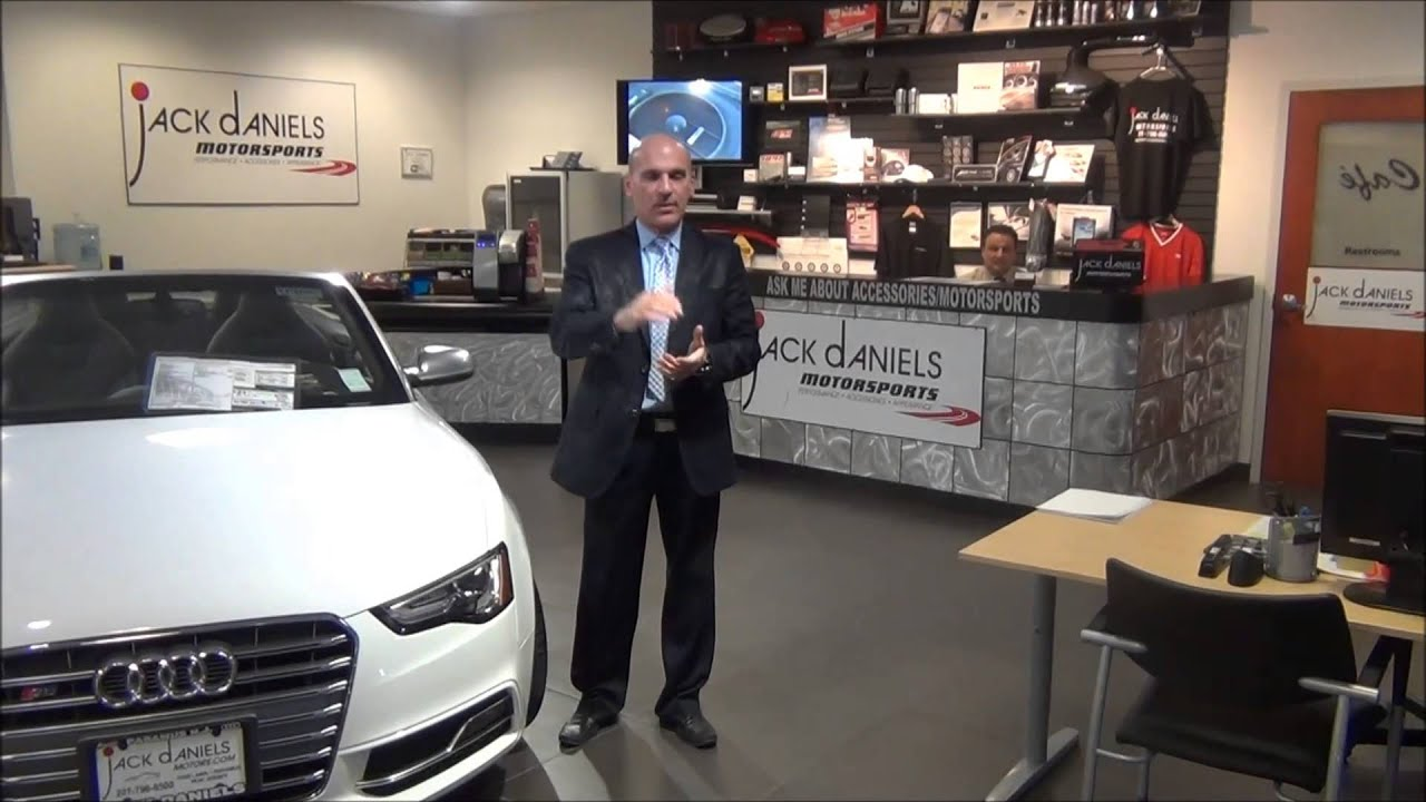 Jack Daniels Paramus Audi Service Customer Introduction - YouTube