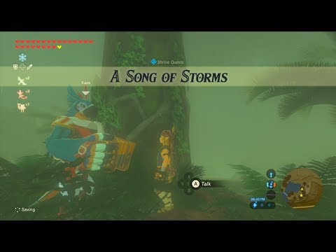 The Legend Of Zelda Breath Of The Wild Wii U Shrine Quest A