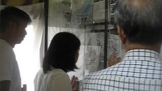古代430 地元小中学生が夏休課題で竹取翁博物館を訪問 2.除福・卑弥呼の...