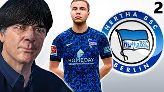 FIFA 21 HERTHA BERLIN CAREER MODE #2 || BERLIN DERBY🔥 || MARIO GOTZE AND MESUT OZIL ON MIDFIELD😍