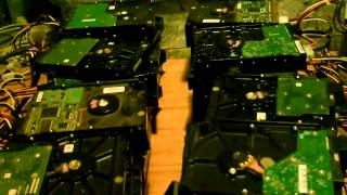 Just for Fun - Powering up 40 Hard Drives