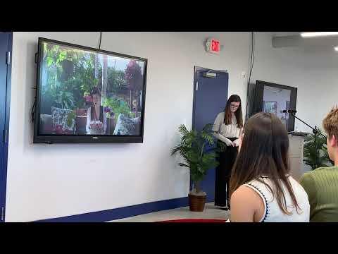 Mary Grace Thomas Cushman School SAMx Top Ten presentation