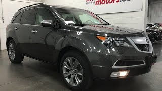 2011 Acura MDX Elite Pkg SH-AWD all-wheel drive DVD ADVANCED Sold Munro Motors