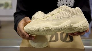 "The rarest Yeezy yet: adidas Yeezy 500 ""Supermoon Yellow"""