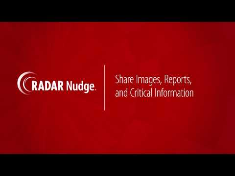 RADAR Nudge Critical Test Result Acknowledgement