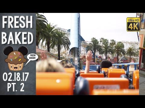 ALERT THE MEDIA!!  SARA WANTS TO RIDE CALIFORNIA SCREAMIN! | 02-18-17 Pt. 2 [DL-4K]