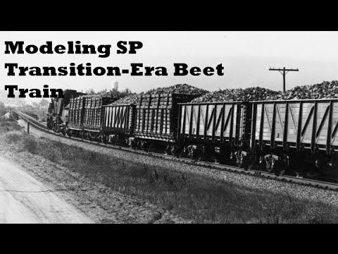 Modeling SP Transition Era Beet Train & Guadalupe Interchang