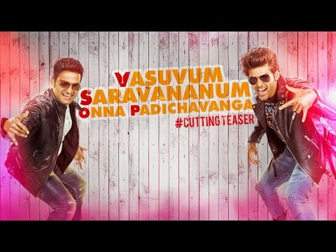 Vasuvum Saravananum Onna Padichavanga - Official Teaser | Arya, Santhanam