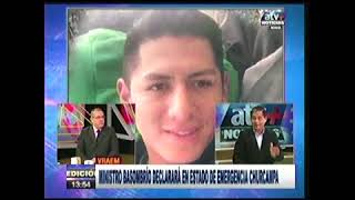 PEDRO YARANGA OPINA SOBRE EMBOSCADA  ATV+