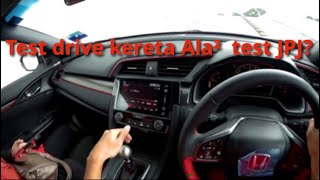 Test Drive Civic Type R FK8 vs. Per...