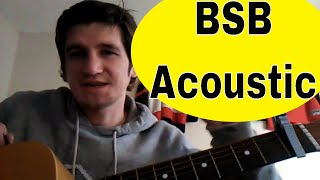 How to Play 'Quit Playing Games With My Heart' - Backstreet Boys - Acoustic Guitar Lesson
