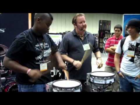 Drumming with Scott Johnson at PASIC 2010
