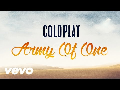 Coldplay - Army Of One (Lyric Video) (Instrumental)