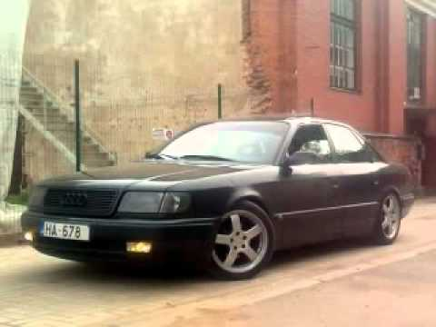 slammed audi 100 c4 youtube. Black Bedroom Furniture Sets. Home Design Ideas