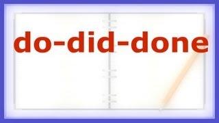 ✍ Simple English - Irregular Verbs + Homework