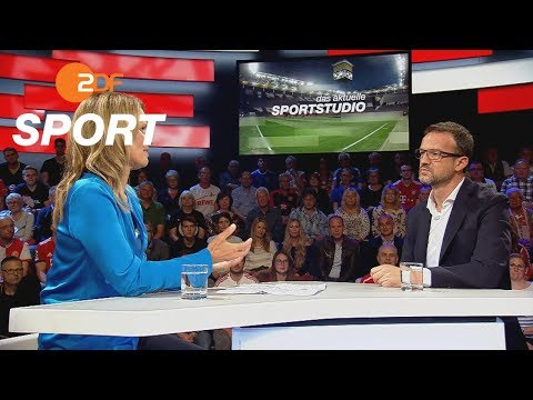 Fredi Bobic chairman of the sport section of Eintracht Frankfurt during ZDF Sportstudio Interview: