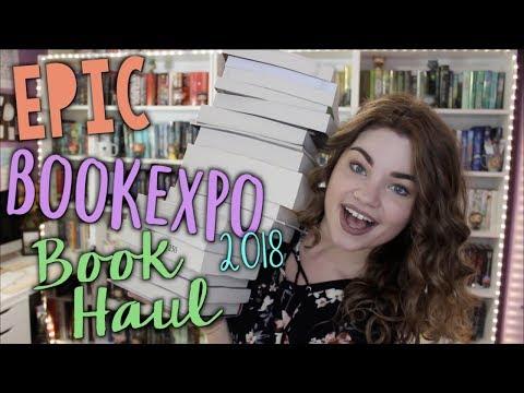 EPIC BOOKEXPO 2018 BOOK HAUL