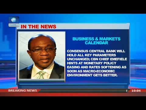 Business And Markets Calendar  Business Morning 