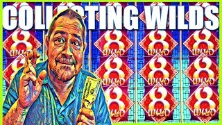 ★ COLLECTING WILDS FOR BIG WINS ★ Fortune Rooster Slot Machine | Slot Traveler
