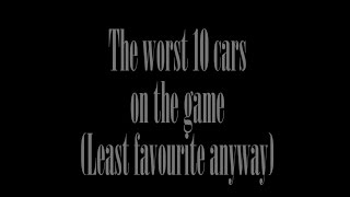 Real Racing 3: - The Worst 10 cars in the game