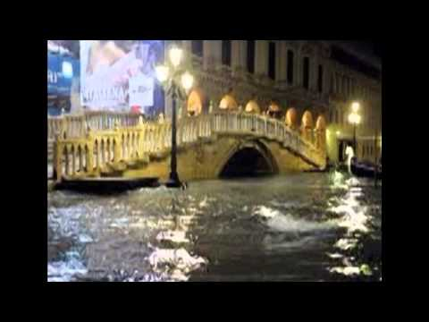 VENICE Italy Flooded on Sunday as rising sea waters surged through the lagoon city