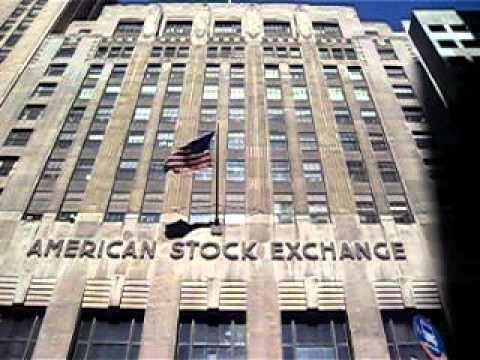 American Stock Exchange Wall Street New York