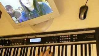 Lesson learned Alicia Keys piano  with Jennifer Chung