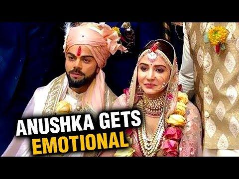 Anushka Sharma CRIES At Wedding Mandap VIDEO | Virat Kohli Anushka Sharma Marriage