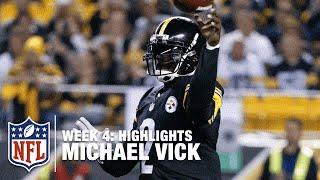 Michael Vick Highlights (Week 4) | Ravens vs. Steelers | NFL