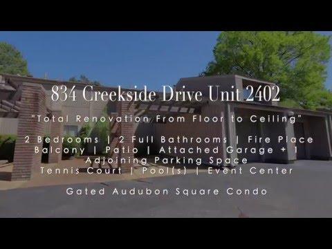834 Creekside Dr.  SOLD!