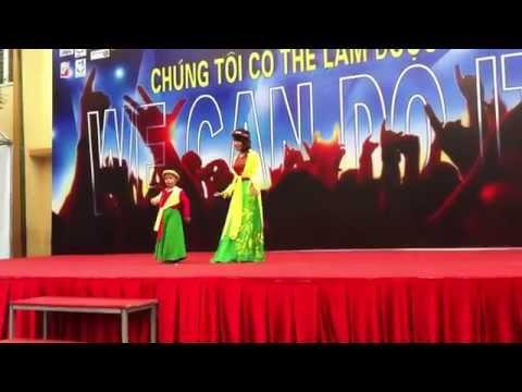 Bài múa Cây Đa Quán Dốc của cô trò Trung Tâm Giáo Dục Hòa Nhập Trẻ Em