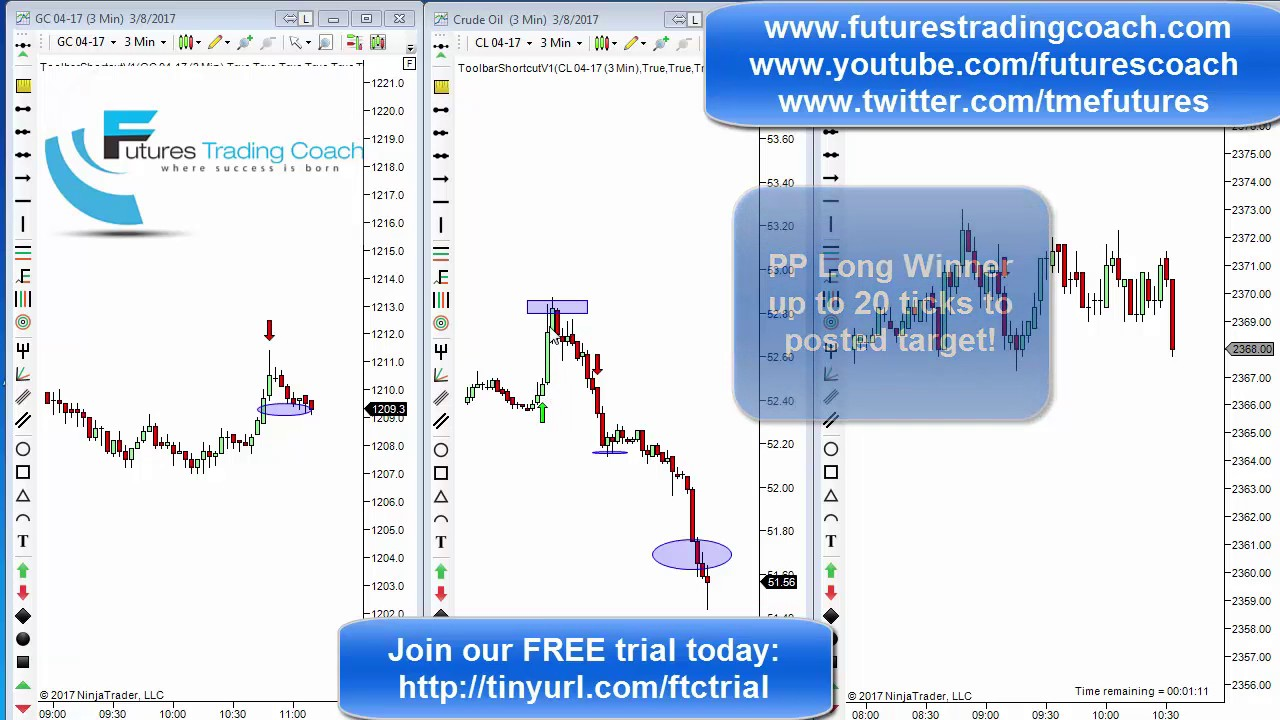 030817 daily market review es cl gc live futures for Live trading room reviews