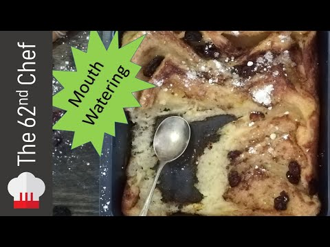 How to make... Bread pudding with Raisins!